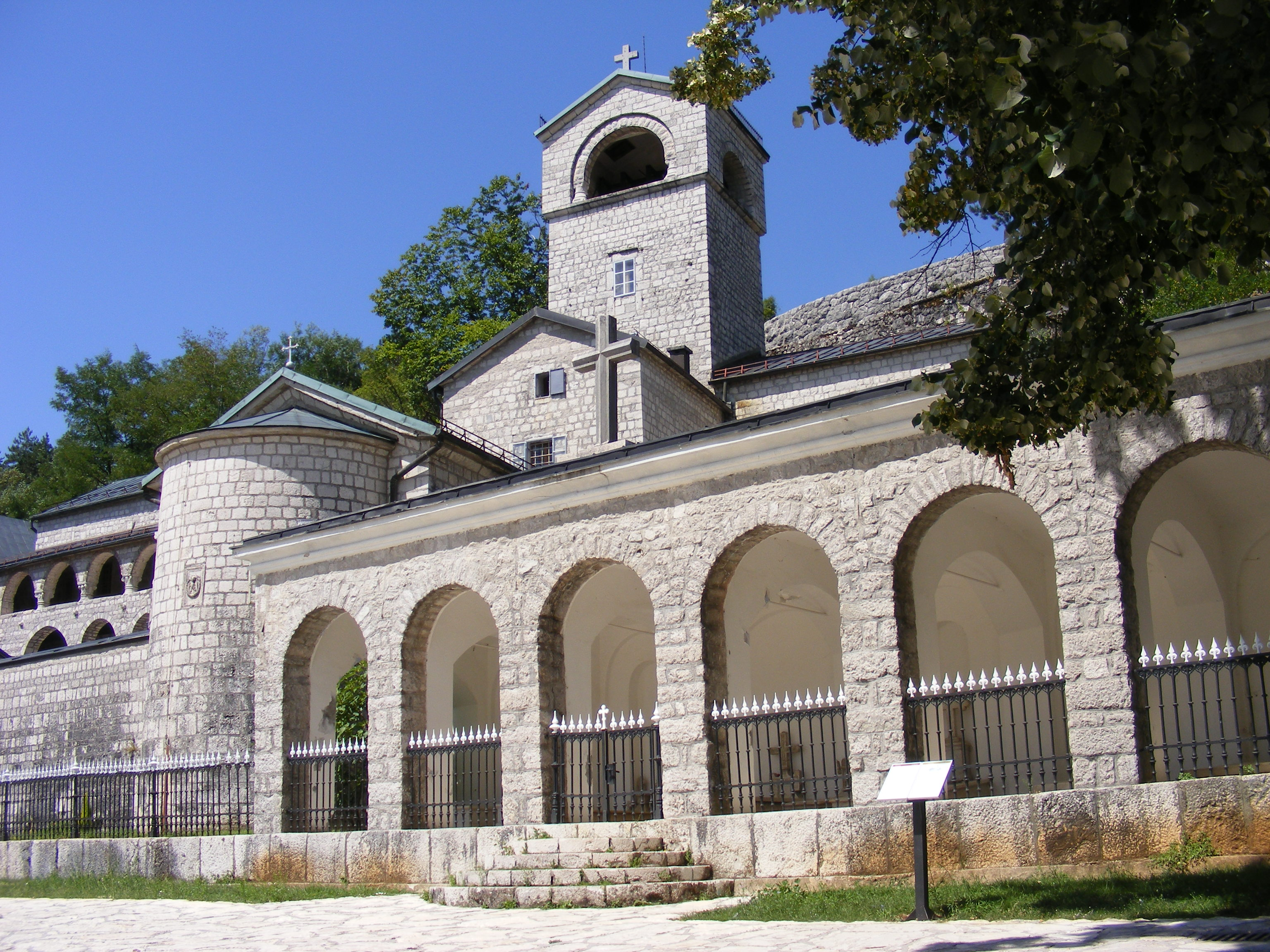 Cetinje Monastery, photo by W. Sajkowski